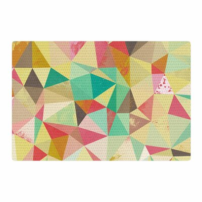 Nic Squirrell Shards Digital Area Rug Rug Size: 4 x 6