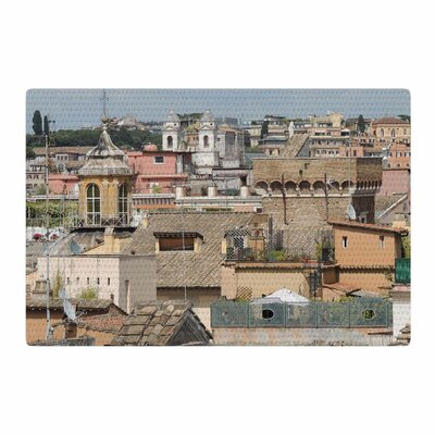 Nick Nareshni Florence Italy Hillside Photography Blue Area Rug Rug Size: 4 x 6