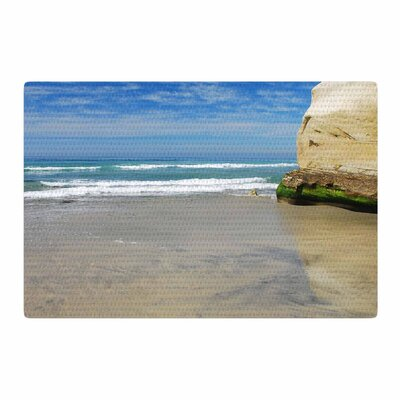 Nick Nareshni Solana Beach Sands Coastal Nature Area Rug Rug Size: 4 x 6