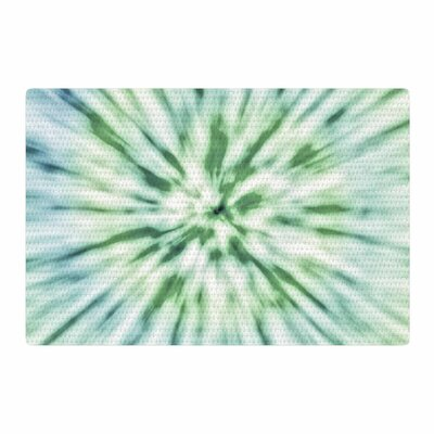 Nika Martinez Spring Tie Dye Green/Blue Area Rug Rug Size: 4 x 6