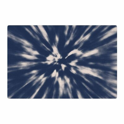 Nika Martinez Tie Dye Urban Blue/Indigo Area Rug Rug Size: 2 x 3
