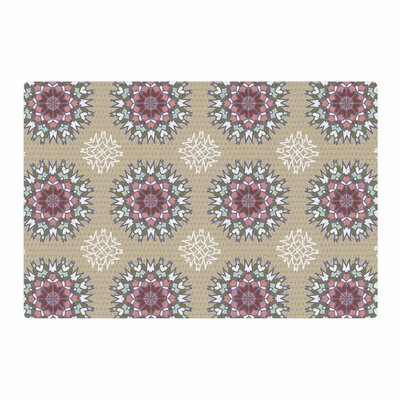 Nika Martinez Princess Abstract Pink Area Rug Rug Size: 2 x 3