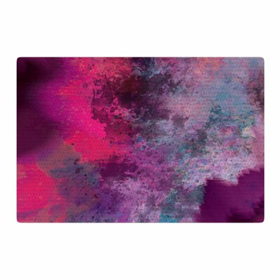 Nina May Mineral Watercolor Purple/Pink Area Rug Rug Size: 4 x 6