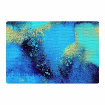 Nina May Salten Sea Blue/Green Area Rug Rug Size: 2 x 3