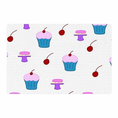 NL Designs Sweet Treats Food Blue Area Rug Rug Size: 2 x 3