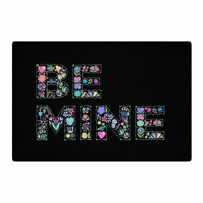 Noonday Design Be Mine Love Area Rug Rug Size: 2 x 3