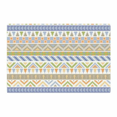 Noonday Design Happy Tribal Pattern Abstract Pastel Area Rug Rug Size: 2 x 3