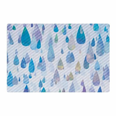 Noonday Design Rain Storm Digital Purple Area Rug Rug Size: 4 x 6