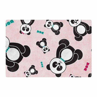 Noonday Design	 Panda Freefall Rug Size: 4 x 6