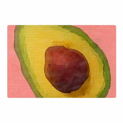 Oriana Cordero Avocado For Lola Green/Pink Area Rug Rug Size: 4 x 6