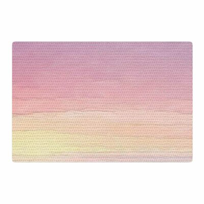 Oriana Cordero Capri Pink/Green Area Rug Rug Size: 4 x 6