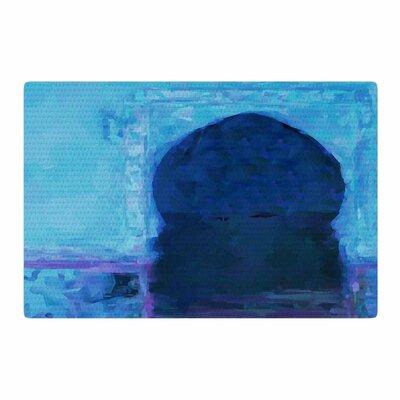 Oriana Cordero Chefchaouen City Blue/Purple Area Rug Rug Size: 4 x 6