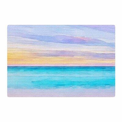 Oriana Cordero Las Terrenas Blue/Pink Area Rug Rug Size: 2 x 3
