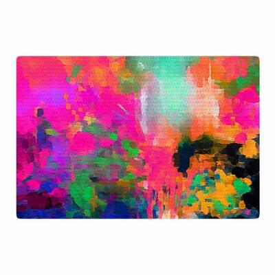 Oriana Cordero Montesilvano Abstract Painting Rainbow Area Rug Rug Size: 2 x 3
