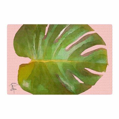 Oriana Cordero Tropico Pink/Green Area Rug Rug Size: 4 x 6