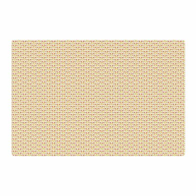 Petit Griffin Chevron Pattern Yellow Area Rug Rug Size: 2 x 3