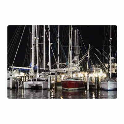 Philip Brown Dinner Key Marina Coastal Area Rug Rug Size: 2 x 3