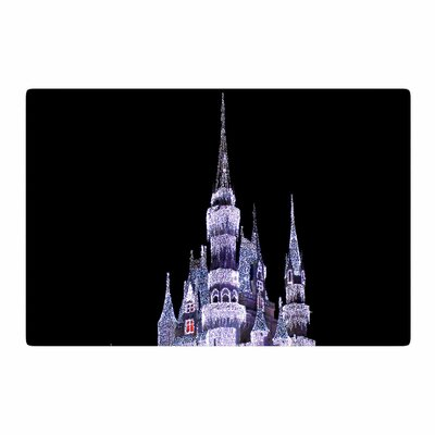 Philip Brown Frozen Castle Photography Purple Area Rug Rug Size: 2 x 3