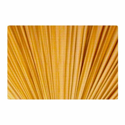 Philip Brown Golden Curtains Abstract Orange Area Rug Rug Size: 4 x 6