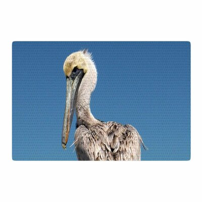 Philip Brown Pelican Blue Area Rug Rug Size: 4 x 6
