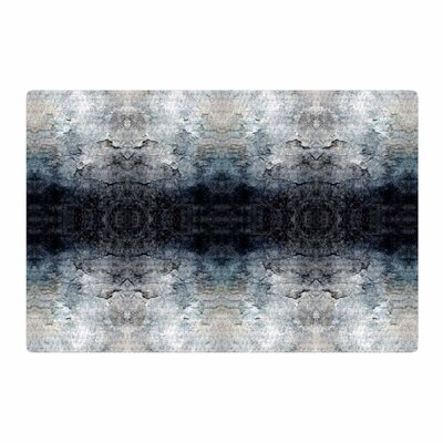 Pia Schneider Heavenly Abstraction l Digital Blue Area Rug Rug Size: 2 x 3