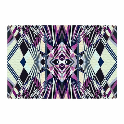 Pia Schneider Sweeping Line Pattern I-E4C Geometric Purple Area Rug Rug Size: 4 x 6