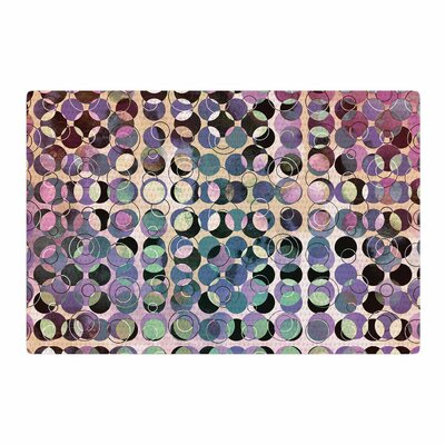Pia Schneider Melange of Circles III Pink/Purple Area Rug Rug Size: 4 x 6