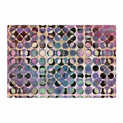 Pia Schneider Melange of Circles III Pink/Purple Area Rug Rug Size: 2 x 3