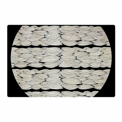 Pom Graphic Design La Luna Illustration Nature Area Rug Rug Size: 4' x 6'