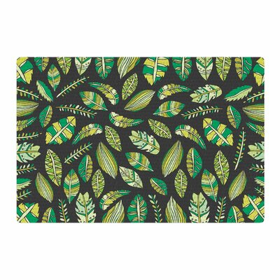 Pom Graphic Design Tropical Botanicals 2 Nature Green Area Rug Rug Size: 4 x 6