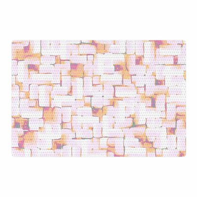 Rachel Watson Cobble Coral/Orange Area Rug Rug Size: 4 x 6