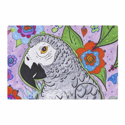 Rebecca Fisher Rio Parrot Area Rug Rug Size: 4 x 6