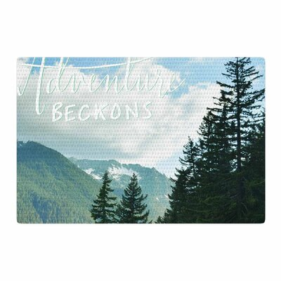 Robin Dickinson Adventure Beckons Landscape Nature Area Rug Rug Size: 4 x 6