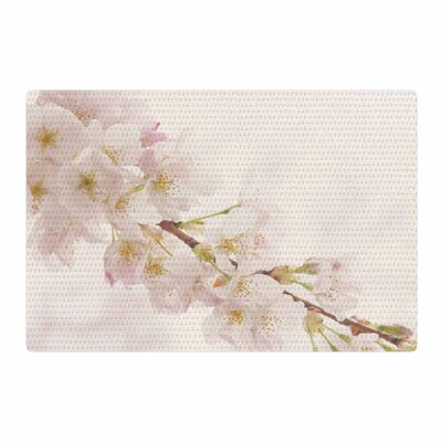 Robin Dickinson Its That Time Floral Photography Ivory Area Rug Rug Size: 2 x 3