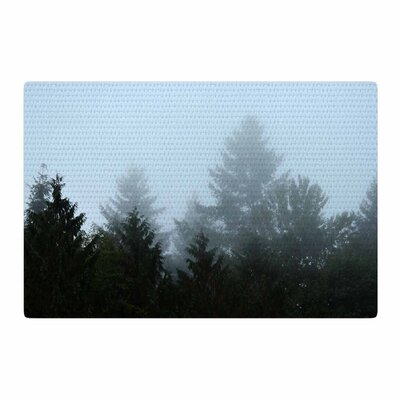 Robin Dickinson Welcome to Earth Forest Mist Area Rug Rug Size: 4 x 6