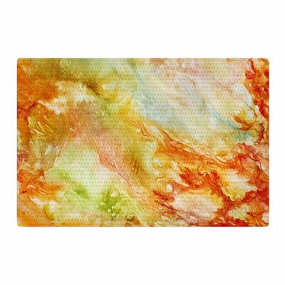 Rosie Brown Autumn Breeze Orange/Red Area Rug Rug Size: 4 x 6