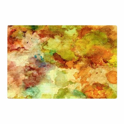 Rosie Brown Fall Bouqet Yellow/Orange Area Rug Rug Size: 4 x 6