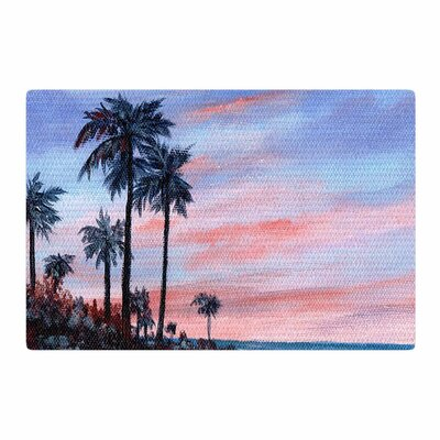 Rosie Brown Florida Sunset Pink/Blue Area Rug Rug Size: 2 x 3