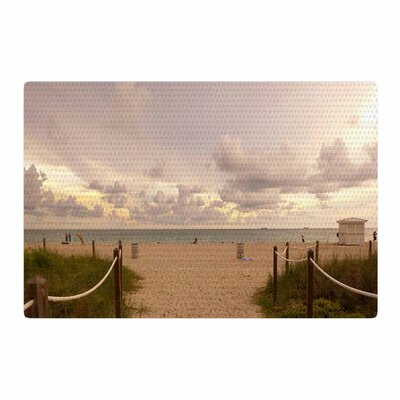 Rosie Brown Walkway To Heaven Photography Coastal Area Rug Rug Size: 2 x 3