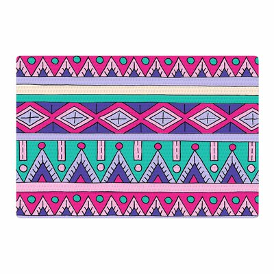Sarah Oelerich Tribal Pink/Purple Area Rug Rug Size: 4 x 6