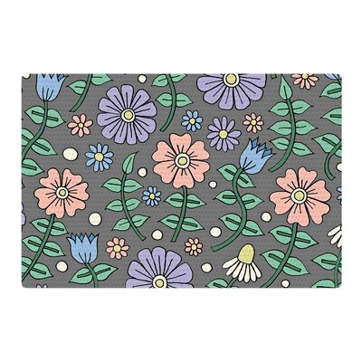 Sarah OelerichEarly Spring Floral Pastel Area Rug Rug Size: 4 x 6
