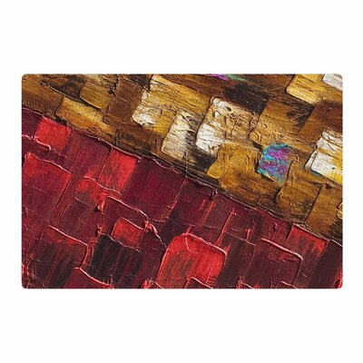 Steven Dix Movement Beneath Red/Brown Area Rug Rug Size: 2 x 3