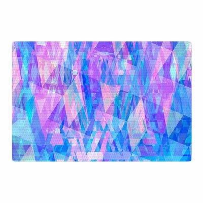 Suanne Carter Geo Prism 2 Pink/Blue Area Rug Rug Size: 2 x 3