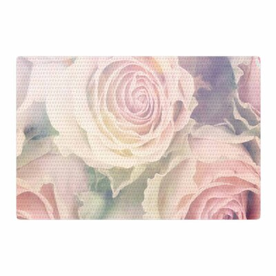 Suzanne Carter Faded Beauty Floral Blush Area Rug Rug Size: 2 x 3