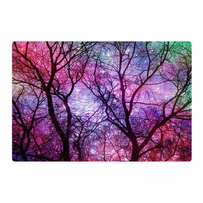 Suzanne Carter Starry Night Purple/Pink Area Rug Rug Size: 4 x 6