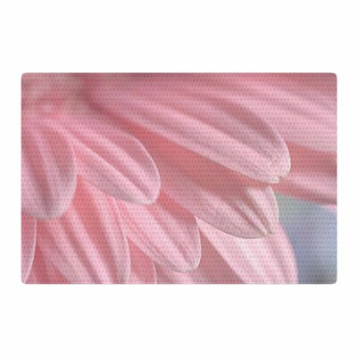 Suzanne Harford Airy Floral Pink Area Rug Rug Size: 4 x 6