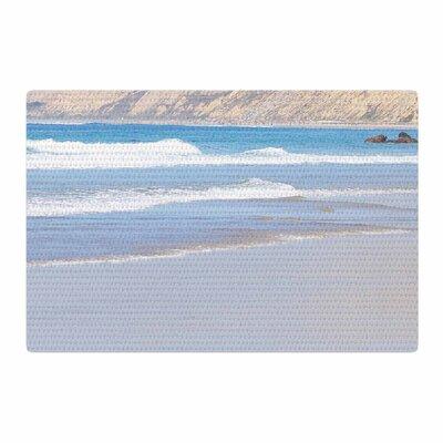 Sylvia Coomes California Beach Blue/Beige Area Rug Rug Size: 4 x 6