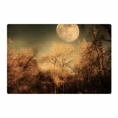 Sylvia Coomes Full Moon Brown/Nature Area Rug Rug Size: 4 x 6
