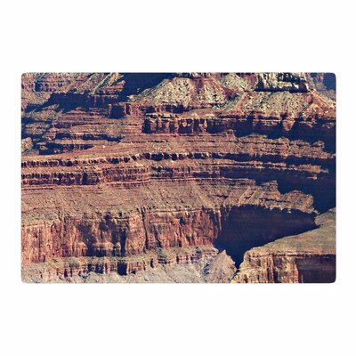 Sylvia Coomes Grand Canyon Landscape 1 Brown/Tan Area Rug Rug Size: 4 x 6
