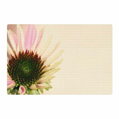 Sylvia Coomes Flower Floral Blush/Pink/Yellow Area Rug Rug Size: 4 x 6
